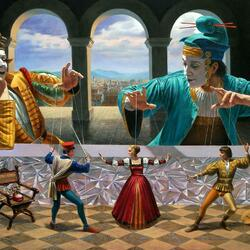 Пазл онлайн:  Art of Diplomacy / Искусство дипломатии
