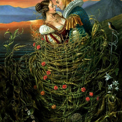 Пазл онлайн: Basket of Love / Корзина любви