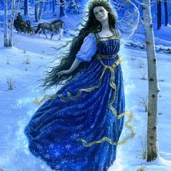 Пазл онлайн:  Fairy spring / Фея весны