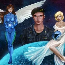 Пазл онлайн: Команда галактики