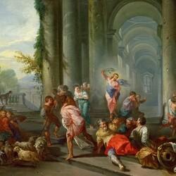 Пазл онлайн: Изгнание торгующих из храма