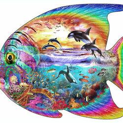 Пазл онлайн: Рыба