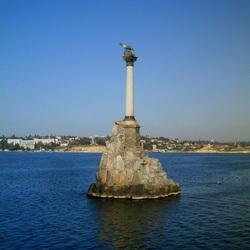 Пазл онлайн: Севастополь. Памятник затопленным кораблям