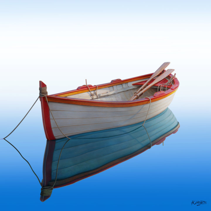 как лодка без весел