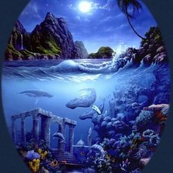 Пазл онлайн: Затонувшая Атлантида