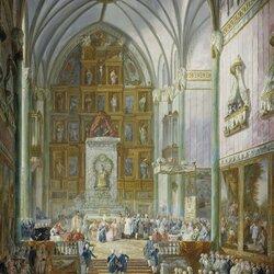 Пазл онлайн: Клятва Фернандо VII в качестве принца Астурии