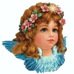 Пазл онлайн: Викторианский ангел