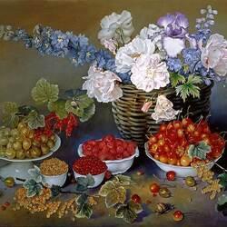 Пазл онлайн: Летние ягоды