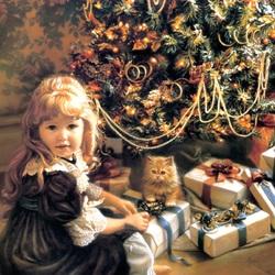 Пазл онлайн: Рождественский день