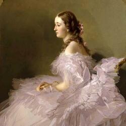 Пазл онлайн: Портрет Лидии Шабельской, баронессы Шталь фон Голштейн