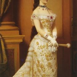 Пазл онлайн: Портрет императрицы Элизабет