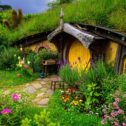 Пазл онлайн: Уютное местечко