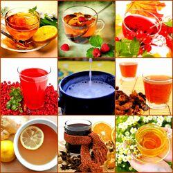 Пазл онлайн: Напитки от простуды