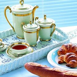 Пазл онлайн: Булочки к чаю