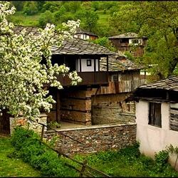 Пазл онлайн: Старые крыши