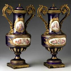 Пазл онлайн: Старинные вазы