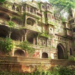 Пазл онлайн: Забытый дворец