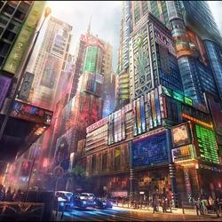 Пазл онлайн: Азия будущего