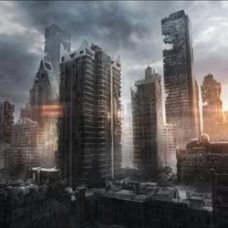 Пазл онлайн: Заброшенный Нью-Йорк