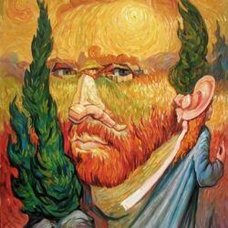 Пазл онлайн: Ван Гог