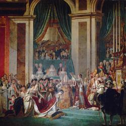 Пазл онлайн: Коронация Жозефины