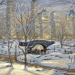 Пазл онлайн: Central Park / Центральный парк
