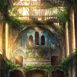 Пазл онлайн: Забытый храм