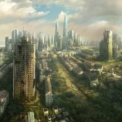 Пазл онлайн: Заброшенный Шанхай