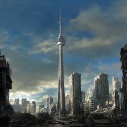 Пазл онлайн: Заброшенный Торонто