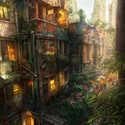 Пазл онлайн: Городские джунгли