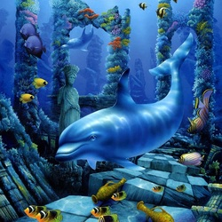 Пазл онлайн: Секреты океана