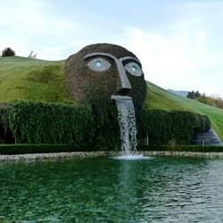 Пазл онлайн: Музей Swarovski - Инсбрук, Австрия