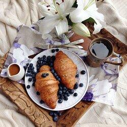 Пазл онлайн: Вкусный завтрак