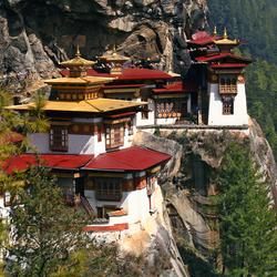 Пазл онлайн: Замок в Гималайях
