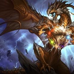 Пазл онлайн: Артефакт в лапах дракона