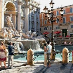 Пазл онлайн: Рим