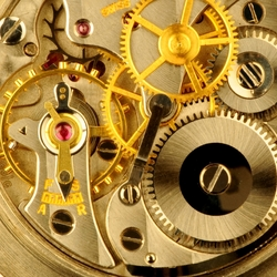 Пазл онлайн: Часовой механизм
