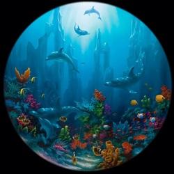 Пазл онлайн: Дно океана. Остров Мауи
