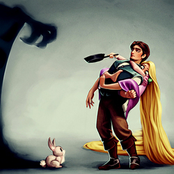 Пазл онлайн: Кролики - это зло