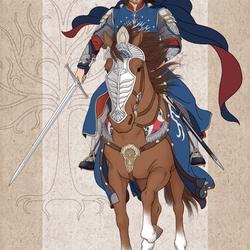 Пазл онлайн: Охотник Арагорн