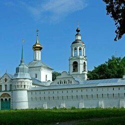 Пазл онлайн: Ярославль.Свято-Введенский Толгский женский монастырь