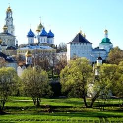 Пазл онлайн: Золотое кольцо России