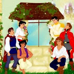 Пазл онлайн: Господа принцы