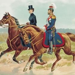 Пазл онлайн: Николай II и Александра Фёдоровна