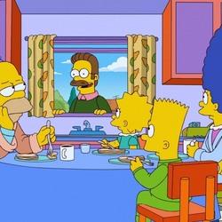 Пазл онлайн: Симпсоны