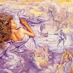 Пазл онлайн: Сказочный сон