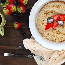 Пазл онлайн: Аппетитный завтрак