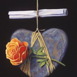 Пазл онлайн: Сердечное послание