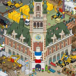 Пазл онлайн: Городской квартал
