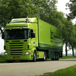 Пазл онлайн: Scania